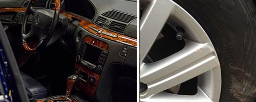 auto interieurschade laten herstellen